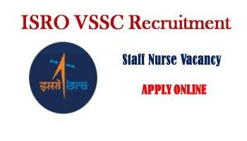 ISRO VSSC recruitment