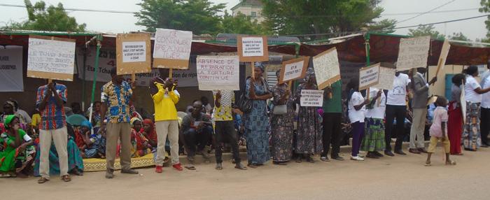 Les ADH en solidarité avec les victimes de Hissein Habré