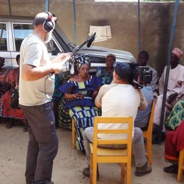 Activités au siège de l'ATPDH avec les journalistes belges