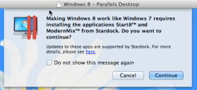 Installing the Stardock Start8 and ModernMix