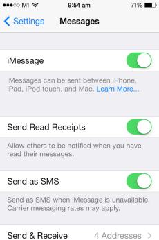 The head to the Messages settings screen and deactivate/reactivate iMessage. FaceTime should now be reactivated as well.