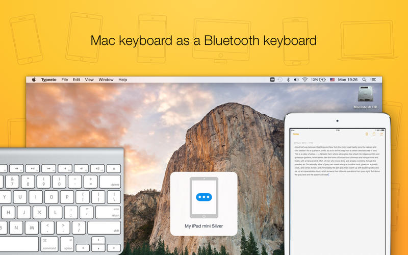 use your mac as a bluetooth keyboard on your iphone