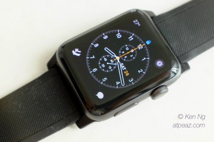 Nomad Silicone Strap on the Apple Watch
