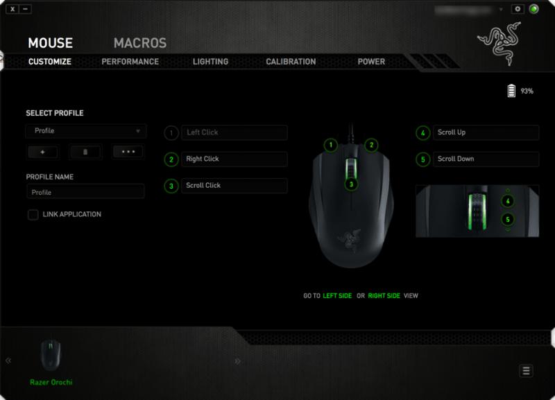Razer Orochi working fine over Bluetooth