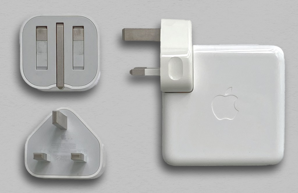 Apple MacBook Pro, iPad Pro and iPhone power adapters