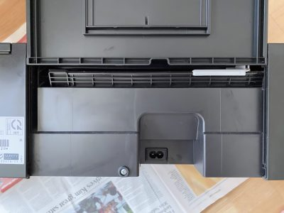 The Epson L355 ink pad tray compartment