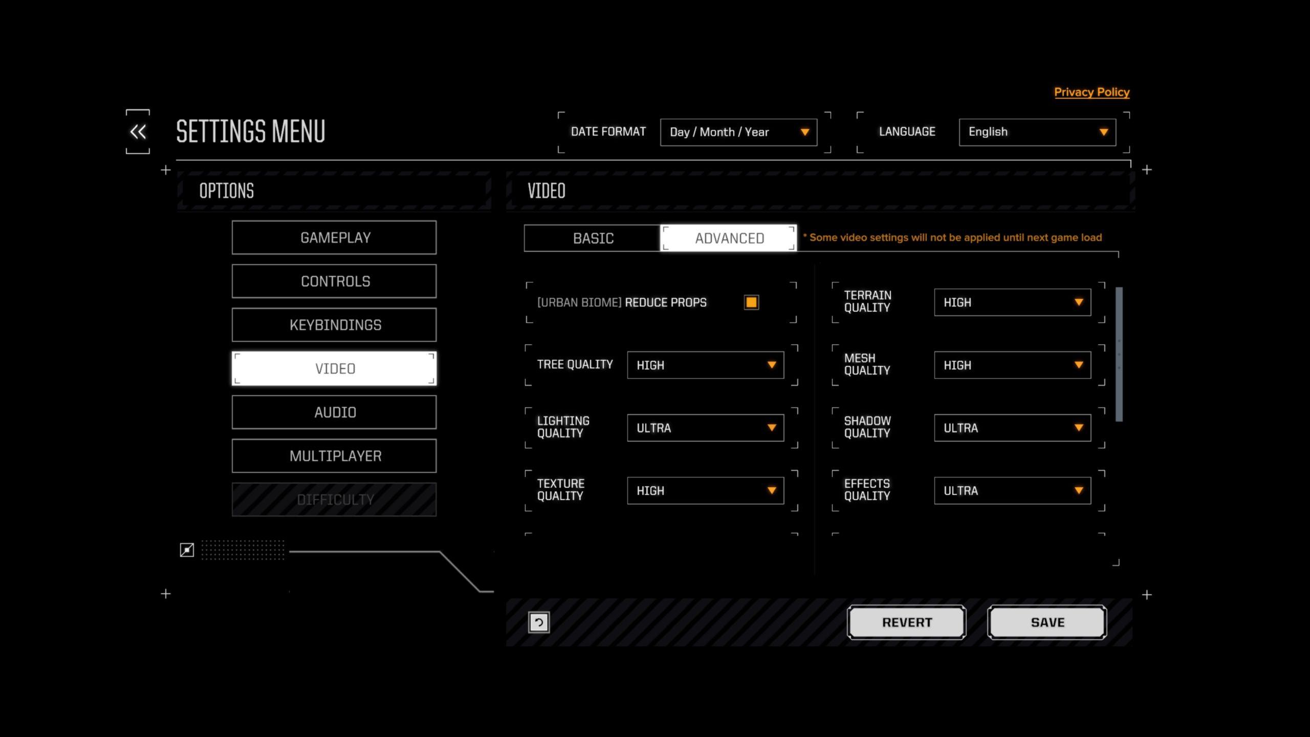 Battletech on RX 5700 XT at 1440p, Ultra settings