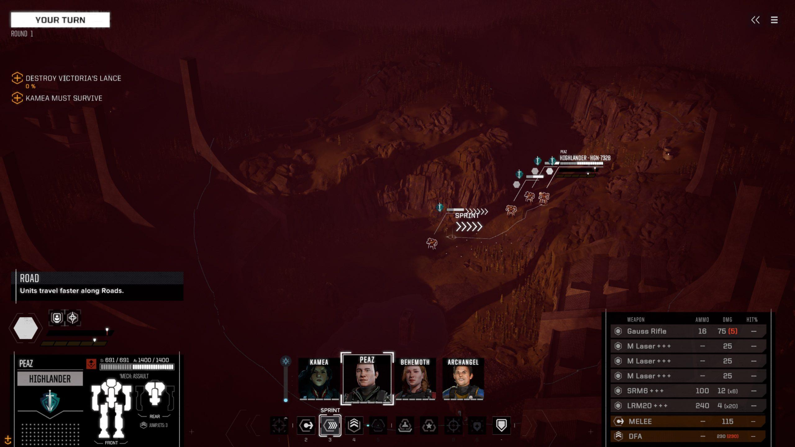 Battletech final mission scene