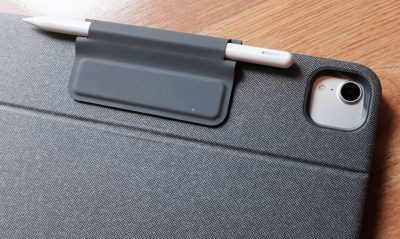 Back view of the Logitech Folio Touch