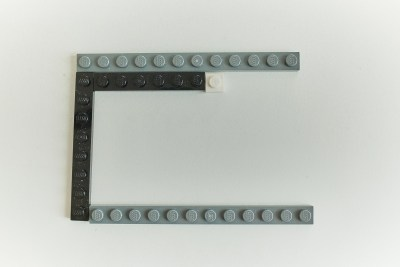 Lego case for the RPi - layer 5