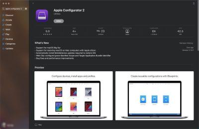 Apple Configurator 2 app