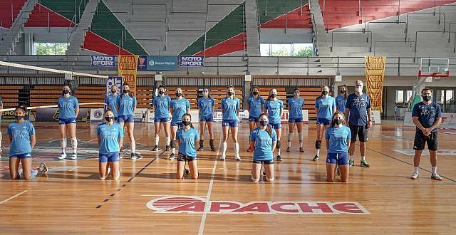 Las selecciones argentinas de vóley pasaron por la provincia