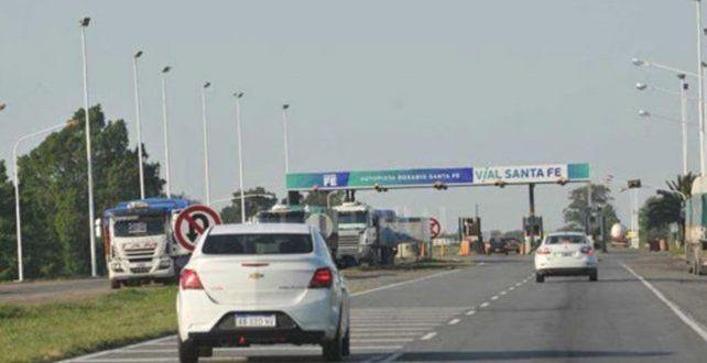 Comenzó a regir el aumento en el peaje de la autopista Rosario-Santa Fe