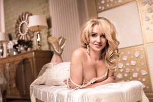 sunny Ukrainian womankind from city Kyiv Ukraine