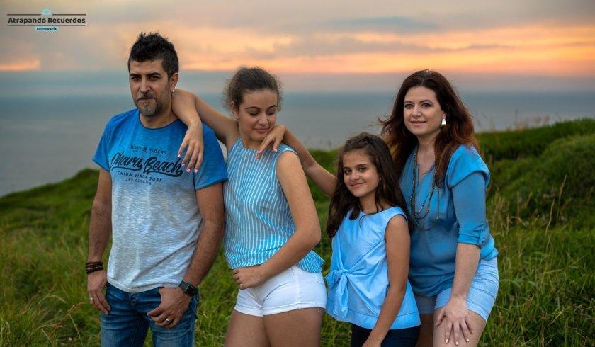 estudio de fotografía foto de familia