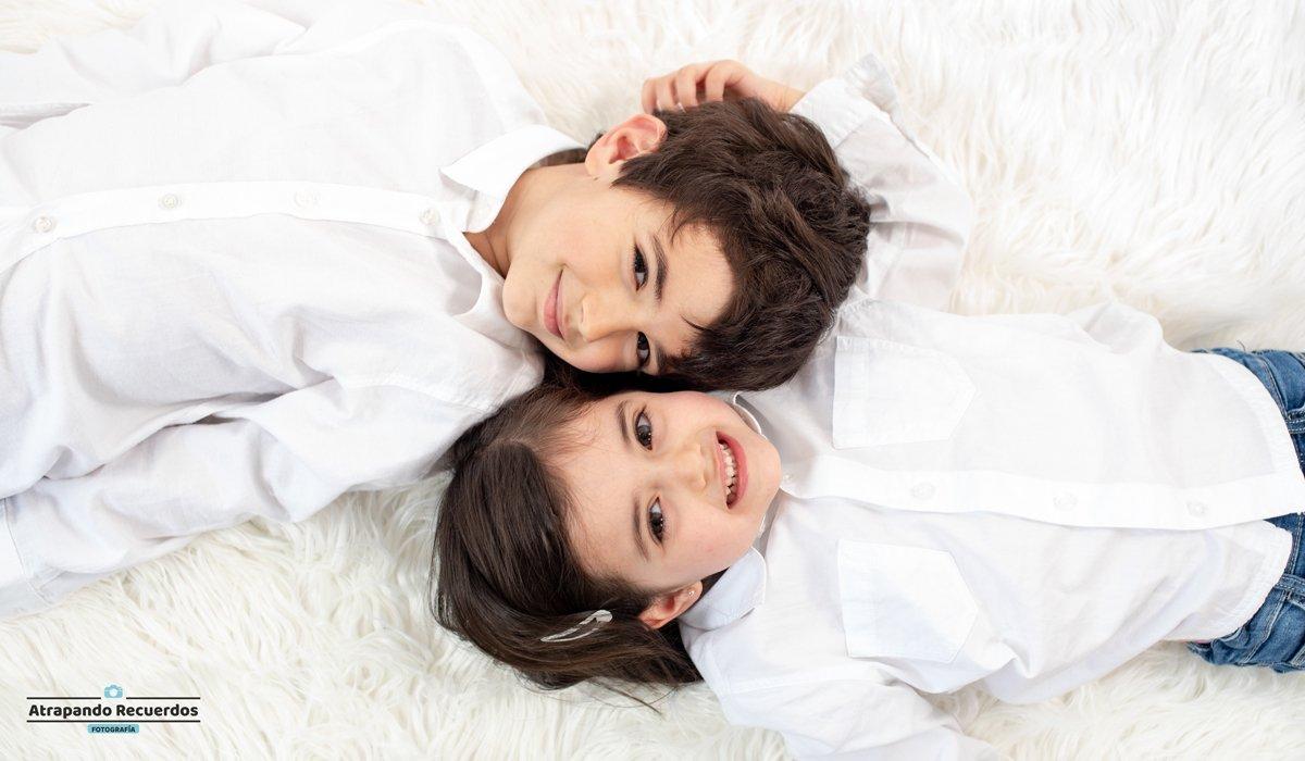 Fotos infantil hermanos