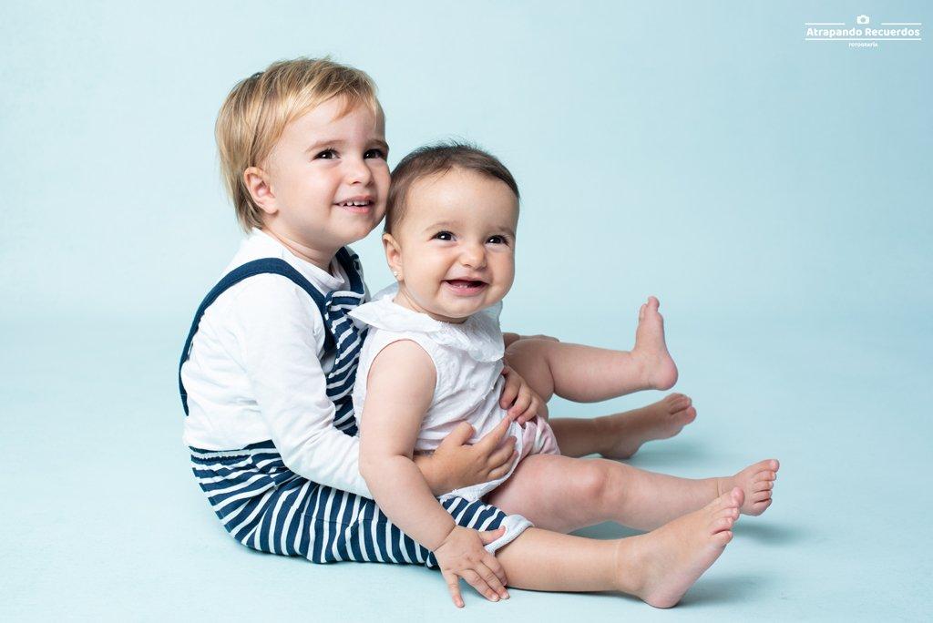 fotos bebe bilbao hermanos