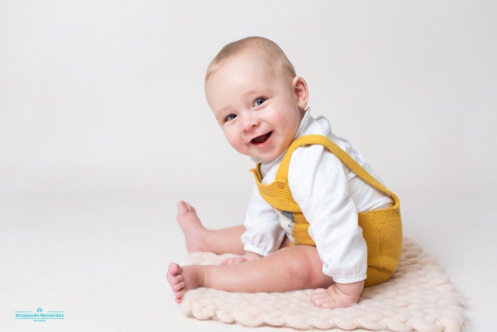 Reportaje fotografico bebé bilbao