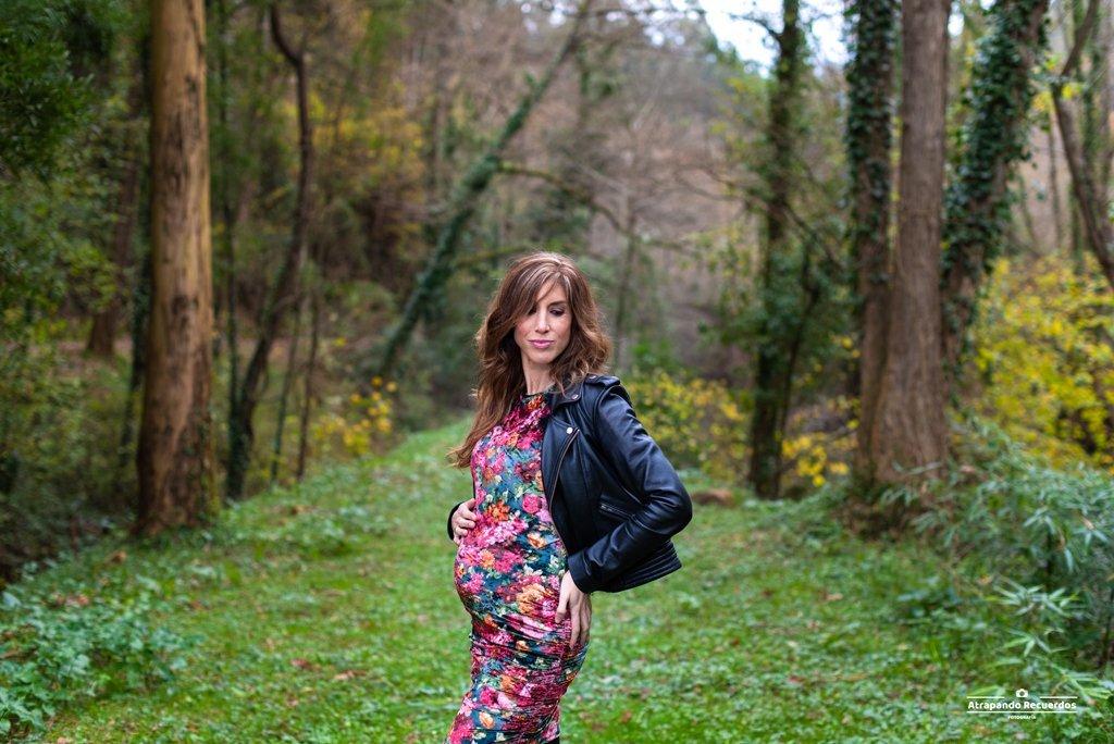 Fotografía embarazo en Getxo Bizkaia