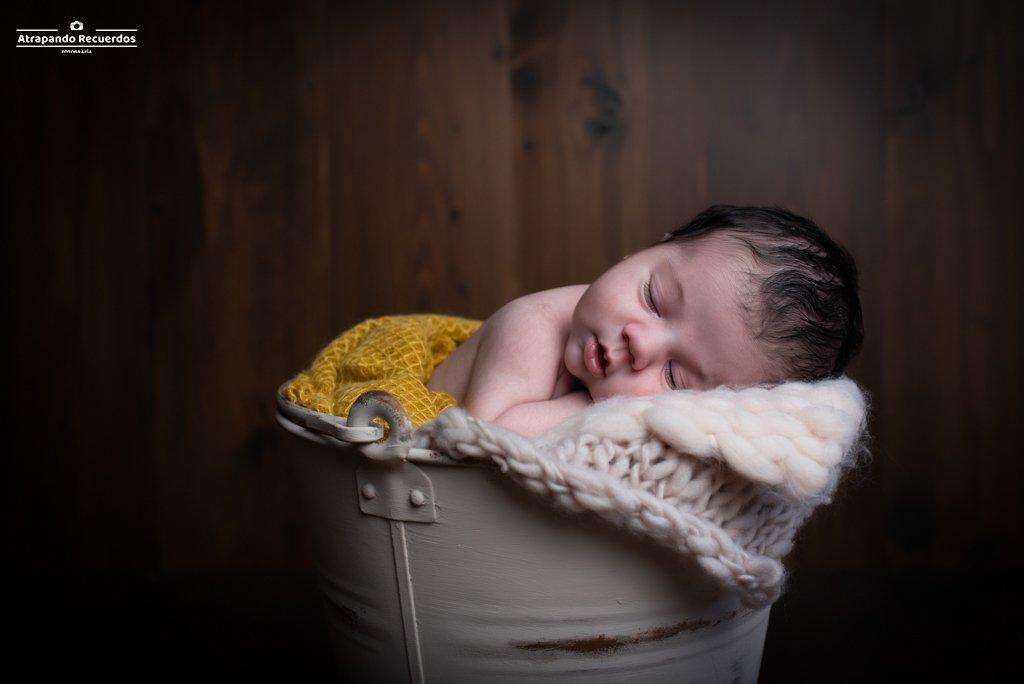 fotografia de bebé recién nacido