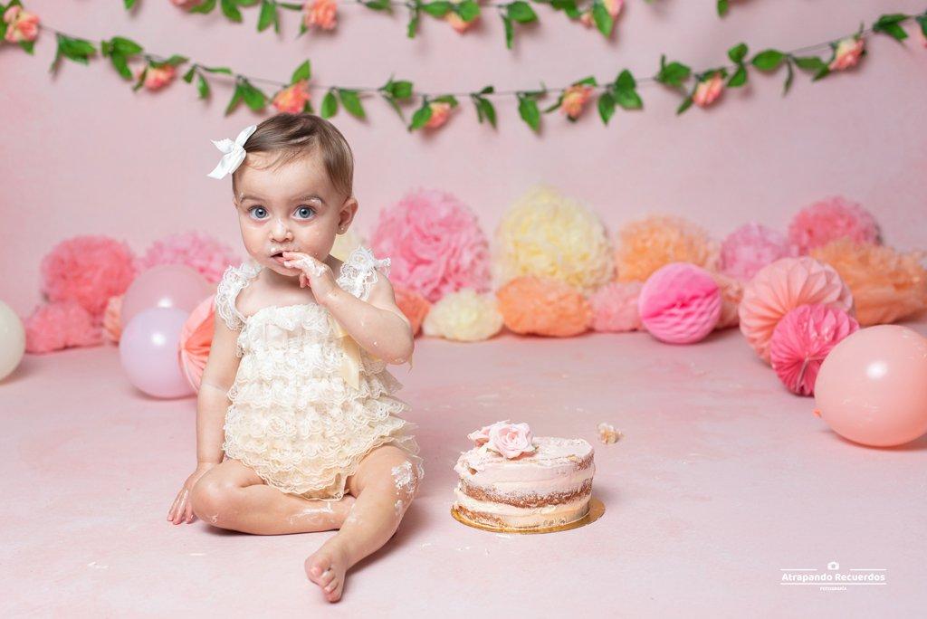 fotos de cumpleaños con tarta bilbao