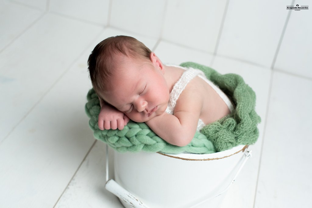 Fotos recien nacido newborn bilbao