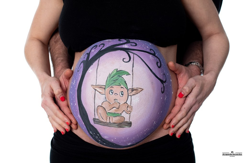 Belly painting bizkaia