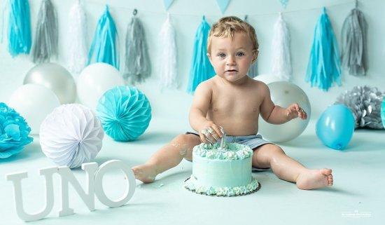 Smash cake fotografos bilbao