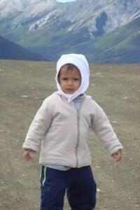 Léo no Cerro Bayo, Villa la Angostura