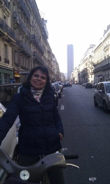 Pedalando em Paris