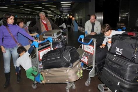 Aerolineas Argentinas: desrespeito com crianças e idosos