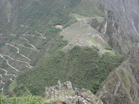 Machu Picchu vista do Wayna Picchu