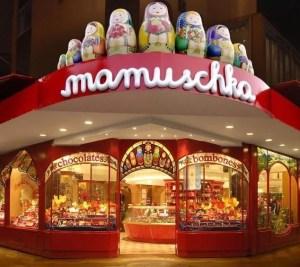 Loja de chocolates da Mamuschka, em Bariloche