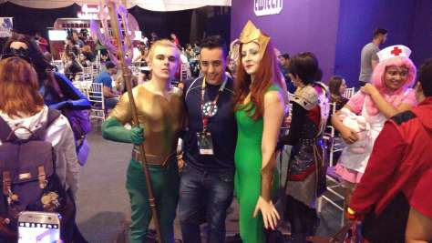 Cosplayers na Comic Con