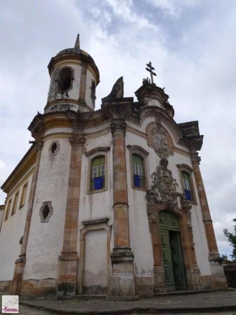 Igreja de São Francisco de Assis, Ouro Preto