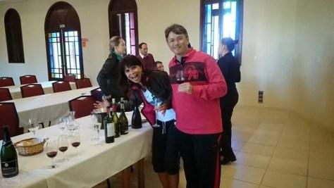 Fazendo curso de vinhos na Casa Valduga