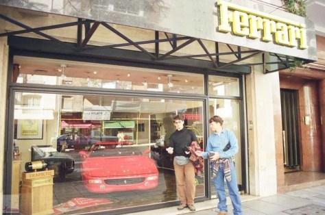 Impressionados com a riqueza de Buenos Aires