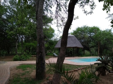 Nossa cabana no Phelwana Game Lodge