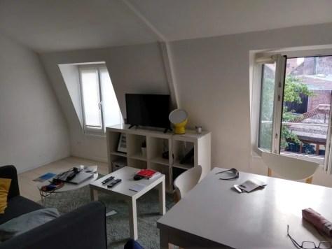 Meu apartamento em Lille - França