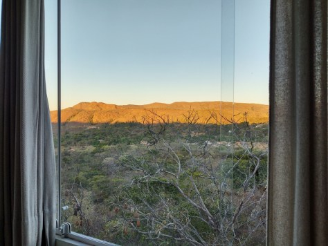 Vista da área de café da manhã, Pousada Casa de Shiva - Alto Paraíso/GO