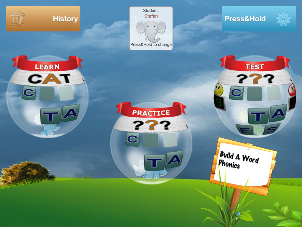 Baw Easy Spelling With Phonics Reks Educational Ios Applications