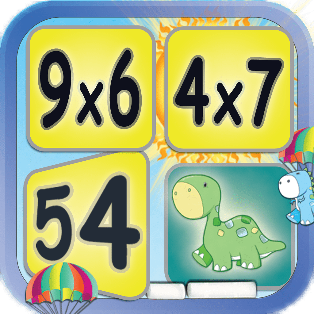 Multiplication Math Facts Card Matching Game Reks Educational Ios Applications