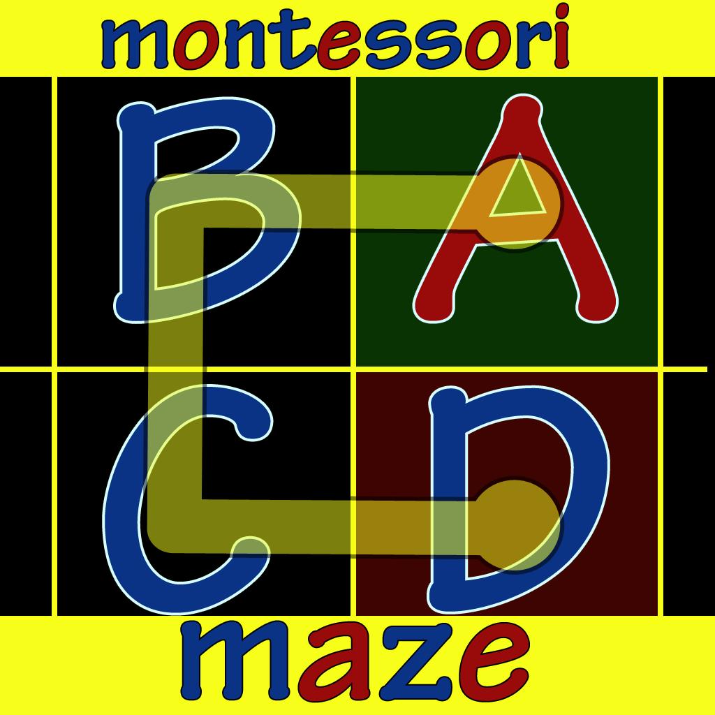 Montessori Alphabet Maze Apps Reks Educational Ios