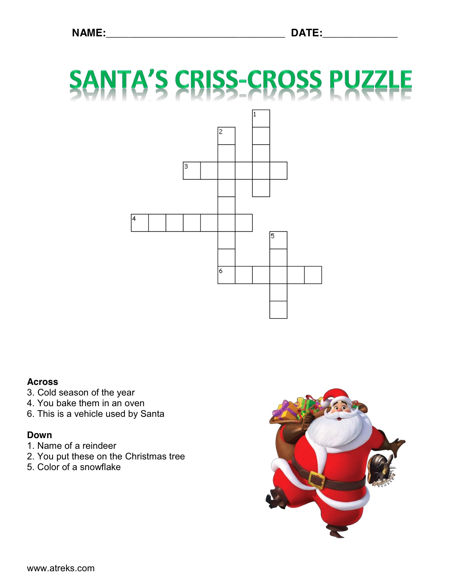 Christmas Jokes And Worksheets For Children Reks Educational Ios Applications