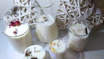 candele vegetali