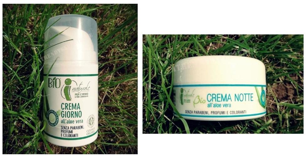 iNaturale bio linea cosmetica biologica iper crema giorno e crema notte