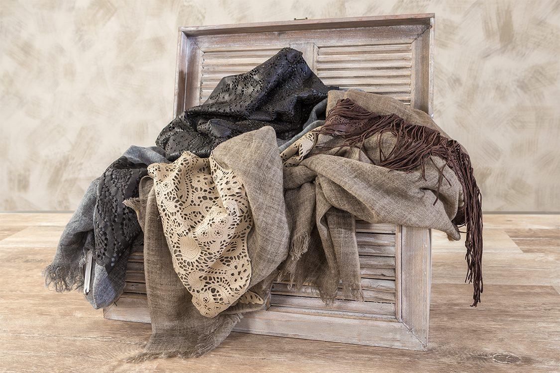 """foulard donna  accessori moda """"D'Aniello"""""""