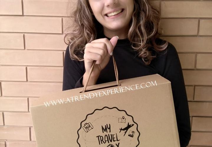 my travel BOX presentazione e recensione di atrendyexperience