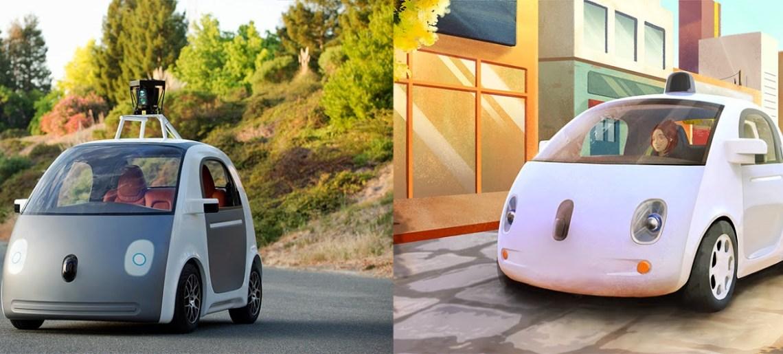 El auto que se conduce solo, de Google