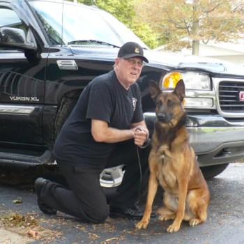 Bomb Detection Dog Training